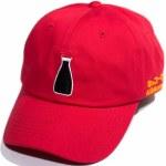 Primitive Kikkoman Dad Hat-Red-OS