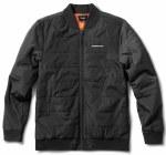 Primitive Mens Hadley Bomber Jacket-Black Wash-M