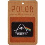 Poler Psychedelic Iron On Patch-Black-OS