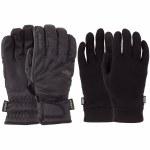 POW Warner GTX Short Glove-Black-S