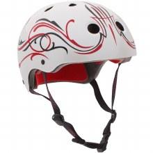 Pro-Tec Classic Certified Caballero Helmet-White Pinstripe-M