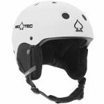 Pro-Tec Classic Snow Helmet-Matte White-L