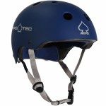 Pro-Tec Classic Certified Helmet-Matte Blue-XL