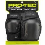 Pro-Tec Street Knee & Elbow Pack-Black-M
