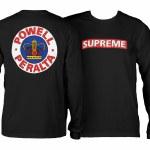 Powell Peralta Supreme Long Sleeve T Shirt-Black-M