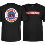Powell Peralta Supreme Short Sleeve T Shirt-Black-M