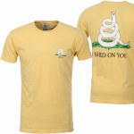 Rip N Dip Shed On You Short Sleeve T Shirt-Lemon-XL