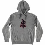 RDS Chenille OG Hoody-Heather Grey/Black/Red-M