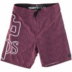 RDS OG OLT Boardshort-Heather Maroon/White-32