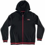 RDS No. 737 Zip Up Hoody-Black/Red-M