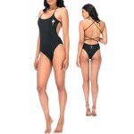 RDS Ladysmith Swimsuit Womens-Black-S