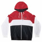 RDS Mens Ultra Zip Hoodie-Red/White/Black-M