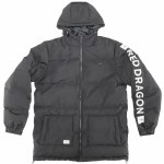 RDS Mens Huffer Puffer Jacket-Black-L