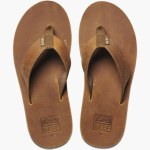 Reef Mens Voyage LE Sandal-Brown/Bronze-8.0