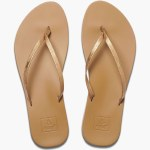 Reef Womens Cusion Bounce Slim Sandal-Copper-7.0