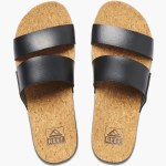 Reef Womens Cusion Bounce Vista Hi Sandal-Black-7.0