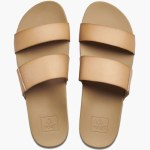 Reef Womens Cusion Bounce Vista Sandal-Natural-7.0