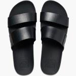 Reef Womens Cushion Vista Sandal-Black-5