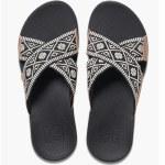 Reef Womens Ortho X Slide Sandal-Black-6
