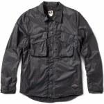 Reef Camp Jacket w/DWR Coating-Faded Black-M