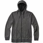 Reef Tourz Zip Hood-Black Heather-L