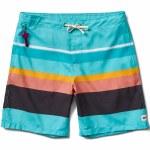 Reef Simple Swimmer Boardshorts-Aqua-36