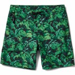 Reef Beach Palms Swimmer Boardshorts-Black-36