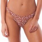 Rhythm Zanzibar Hi Cut Bikini Bottom-Cider-L