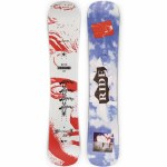 Ride Mens Burnout Snowboard-Assorted-152