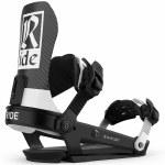 Ride Mens A-10 Snowboard Binding-Classic Black-MD