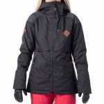 Rip Curl Womens Search Jacket-Jet Black-S