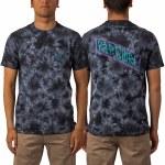 Rip Curl Mens Madsteeze Tie-dye Short Sleeve T-Shirt-Black-M