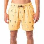 Rip Curl Mens Vacation Volley Boardshort-Yellow-S