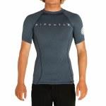 Rip Curl Mens Dawn Patrol Surf Short Sleeve T-Shirt-Navy Marle-S