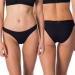 Rip Curl Womens Premium Surf Good Pant Bikini-Black-S