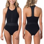 Rip Curl Womens Mirage Ultimate 1 Piece Bikini-Black-S