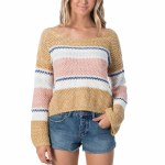 Rip Curl Womens Sunsetters Sweater-Multico-S