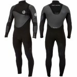 Rip Curl Mens Fbomb Heat Seeker 43GB ZF Full Suit-Black-L