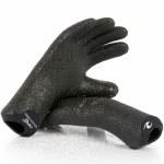 Rip Curl Mens Dawn Patrol 3mm Glove-Black-XS