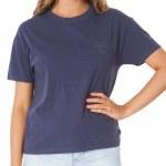 Rip Curl Womens Search Pocket Crew Sweatshirt-indigo-S