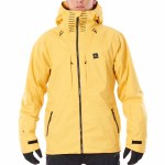 Rip Curl Mens Freeride Search Jacket-Yellow-XL