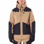 Rip Curl Mens Pow Search Jacket-Stone-L
