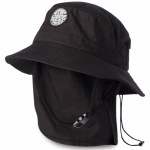 Rip Curl Mens Wetty Surf Hat Hat-Black-OS