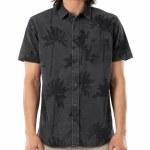 Rip Curl Mens Mason HO S/S Shirt-Washed Black-S