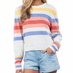 Rip Curl Womens Golden State Sweater Sweater-Multico-M