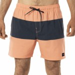 Rip Curl Mens Divide Volley Boardshort-Washed Peach-XL