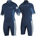Rip Curl Aggrolite Back Zip Spring Suit-2MM-Navy-M