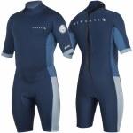 Rip Curl Aggrolite Back Zip Spring Suit-2MM-Navy-M