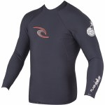 Rip Curl Flash Bomb Neo Poly Long Sleeve Rashguard-Black-M