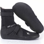 Rip Curl Flash Bomb 3mm Hidden Split Toe Booties-Black-7